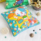 BN-DP003 [Shy Puppy] Decorative Pillow Cushion / Floor Cushion (15.8 by 15.8 inches)