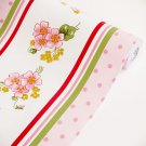 AIH-P1402-Swatch Flowing Flower - Self-Adhesive Wallpaper Home Decor(Sample)