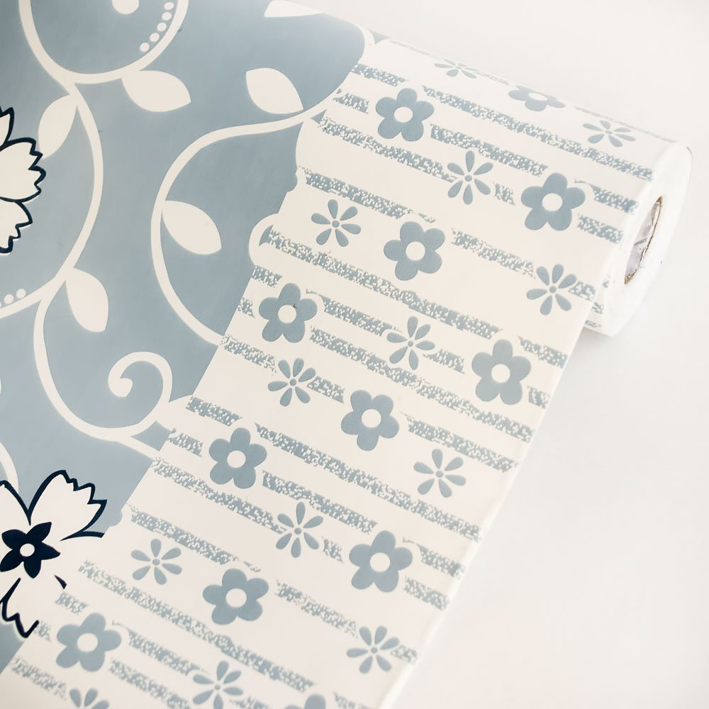 AIH-P1403-Roll Chained Flower - Self-Adhesive Wallpaper Home Decor(Roll)