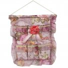 YF-WH083 [Bud Silk & Red Rose] Wall Hanging/ Wall Organizers /Hanging Baskets (16*18)