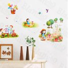 HEMU-HL-1206 Leisure Time-1 - Wall Decals Stickers Appliques Home Decor