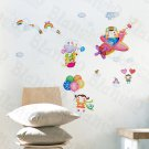 HEMU-HL-1209 Flying Sky - Wall Decals Stickers Appliques Home Decor