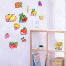 HEMU-HL-1219 Fruit Basket - Wall Decals Stickers Appliques Home Decor