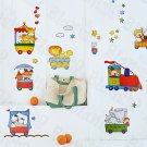 HEMU-HL-1222 Chu Chu Train-1 - Wall Decals Stickers Appliques Home Decor