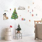 HEMU-HL-1223 Christmas-1 - Wall Decals Stickers Appliques Home Decor