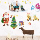 HEMU-HL-1224 Christmas-2 - Wall Decals Stickers Appliques Home Decor