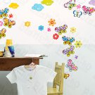 HEMU-HL-1240 Sky Butterfly - Wall Decals Stickers Appliques Home Decor