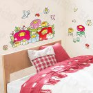 HEMU-HL-1243 Chubby Flower - Wall Decals Stickers Appliques Home Decor