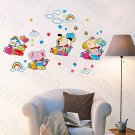 HEMU-HL-1246 Animal Friends-3 - Wall Decals Stickers Appliques Home Decor