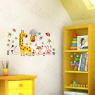 HEMU-HL-1249 Fun Zoo - Wall Decals Stickers Appliques Home Decor