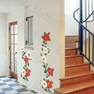 HEMU-HL-1268 Climbing Flowers - Wall Decals Stickers Appliques Home Decor