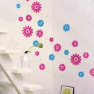 HEMU-HL-1288 Joyful Round - Wall Decals Stickers Appliques Home Decor