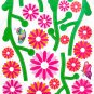 HEMU-HL-1289 Dancing Flourish - Wall Decals Stickers Appliques Home Decor