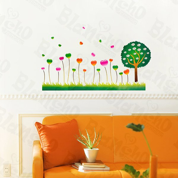 HEMU-HL-1295 Thrive Forest - Wall Decals Stickers Appliques Home Decor