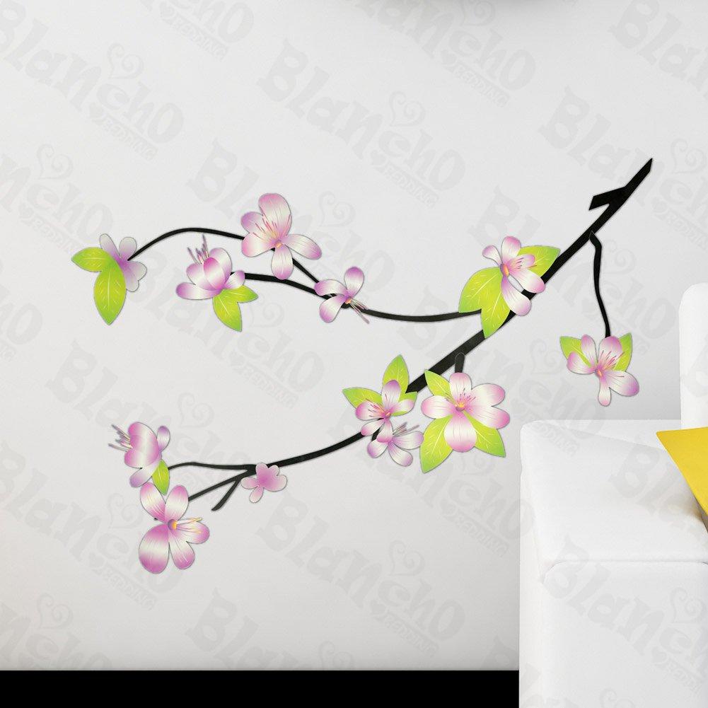 HEMU-HL-1530 Fresh Blossoms - Wall Decals Stickers Appliques Home Decor