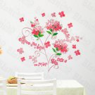HEMU-HL-2101 Folk Flowers - Large Wall Decals Stickers Appliques Home Decor