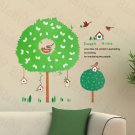 HEMU-HL-2109 The House Of Bird - Large Wall Decals Stickers Appliques Home Decor