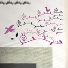 HEMU-HL-2111 Willow & Swallow - Large Wall Decals Stickers Appliques Home Decor