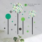 HEMU-HL-2116 Green Germination - Large Wall Decals Stickers Appliques Home Decor
