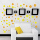 HEMU-HL-2122 Summer Flowers - Large Wall Decals Stickers Appliques Home Decor