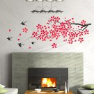 HEMU-HL-2137 Iris laevigata - Large Wall Decals Stickers Appliques Home Decor