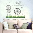 HEMU-HL-2173 Dandelion On The Field - Large Wall Decals Stickers Appliques Home Decor