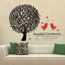 HEMU-HL-2177 Birds In Love - Large Wall Decals Stickers Appliques Home Decor