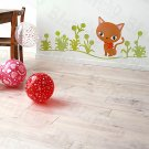 HEMU-HL-5816 Cat Grass - Large Wall Decals Stickers Appliques Home Decor