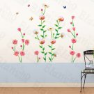 HEMU-HL-5853 Flowers Bushes - Large Wall Decals Stickers Appliques Home Decor