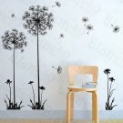 HEMU-HL-5869 Flying Dandelion - Large Wall Decals Stickers Appliques Home Decor