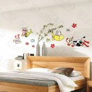 HEMU-HL-5870 Cows Under The Sea - Large Wall Decals Stickers Appliques Home Decor