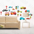 HEMU-HL-5871 Cars & Signs - Large Wall Decals Stickers Appliques Home Decor