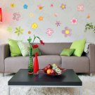 HEMU-HL-5908 Colourful Flourish - Large Wall Decals Stickers Appliques Home Decor