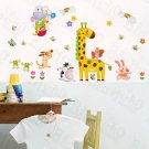 HEMU-HL-5911 Zoo Party 1 - Large Wall Decals Stickers Appliques Home Decor