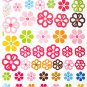 HEMU-HL-6803 Petals 3 - X-Large Wall Decals Stickers Appliques Home Decor