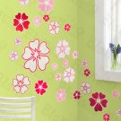 HEMU-HL-6812 Pink World - X-Large Wall Decals Stickers Appliques Home Decor
