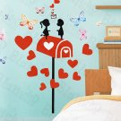 HEMU-HL-6816 Mail Lover - X-Large Wall Decals Stickers Appliques Home Decor