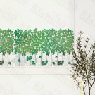 HEMU-HL-6821 Green Garden 2 - X-Large Wall Decals Stickers Appliques Home Decor