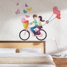 HEMU-HL-6824 Bick Couple - X-Large Wall Decals Stickers Appliques Home Decor
