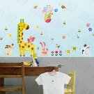 HEMU-HL-6836 Zoo Party 2 - X-Large Wall Decals Stickers Appliques Home Decor
