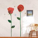 HEMU-HL-6844 Glorious Rose 3 - X-Large Wall Decals Stickers Appliques Home Decor