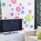 HEMU-HL-6848 Color Petals - X-Large Wall Decals Stickers Appliques Home Decor