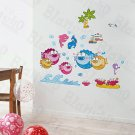 HEMU-HL-6859 Tropical Fish 3 - X-Large Wall Decals Stickers Appliques Home Decor