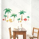 HEMU-HL-915 Summer Vacation - Wall Decals Stickers Appliques Home Decor