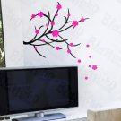 HEMU-HL-931 Dancing Flowers - Wall Decals Stickers Appliques Home Decor
