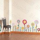 HEMU-HL-946 Flower Lollipop-1 - Wall Decals Stickers Appliques Home Decor