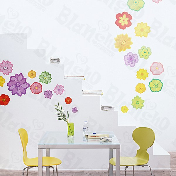HEMU-HL-950 Spring Comes - Wall Decals Stickers Appliques Home Decor