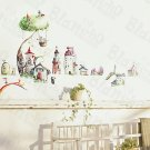 HEMU-HL-976 Towers - Wall Decals Stickers Appliques Home Decor