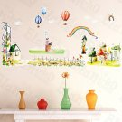 HEMU-HL-977 Green Land - Wall Decals Stickers Appliques Home Decor