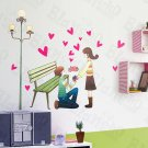 HEMU-HL-9804 Propose - X-Large Wall Decals Stickers Appliques Home Decor